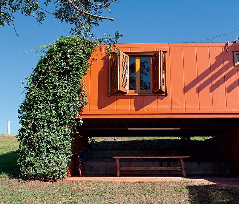 adelaparvu.com despre casa din containere si zidarie, arhitectura Jorge Siemsen, Foto Jorge Siemsen si Foto Lufe Gomes (16)