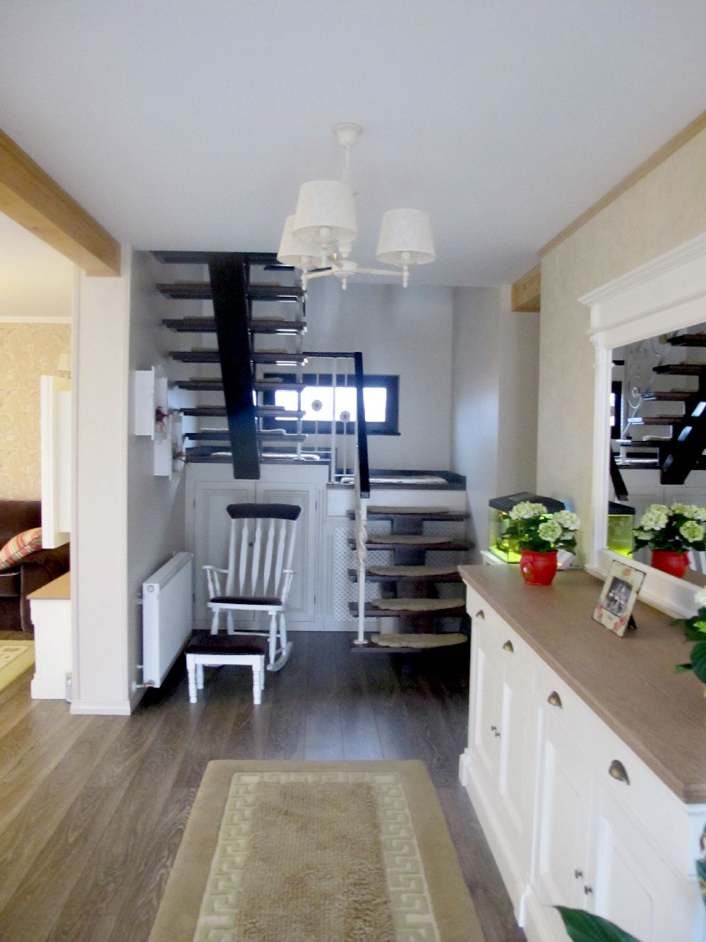 adelaparvu.com despre casa din lemn la Bacau, interior casa din lemn, design interior Mihaela Rosca, Foto, Sorin Rosca, Adela Parvu (61)