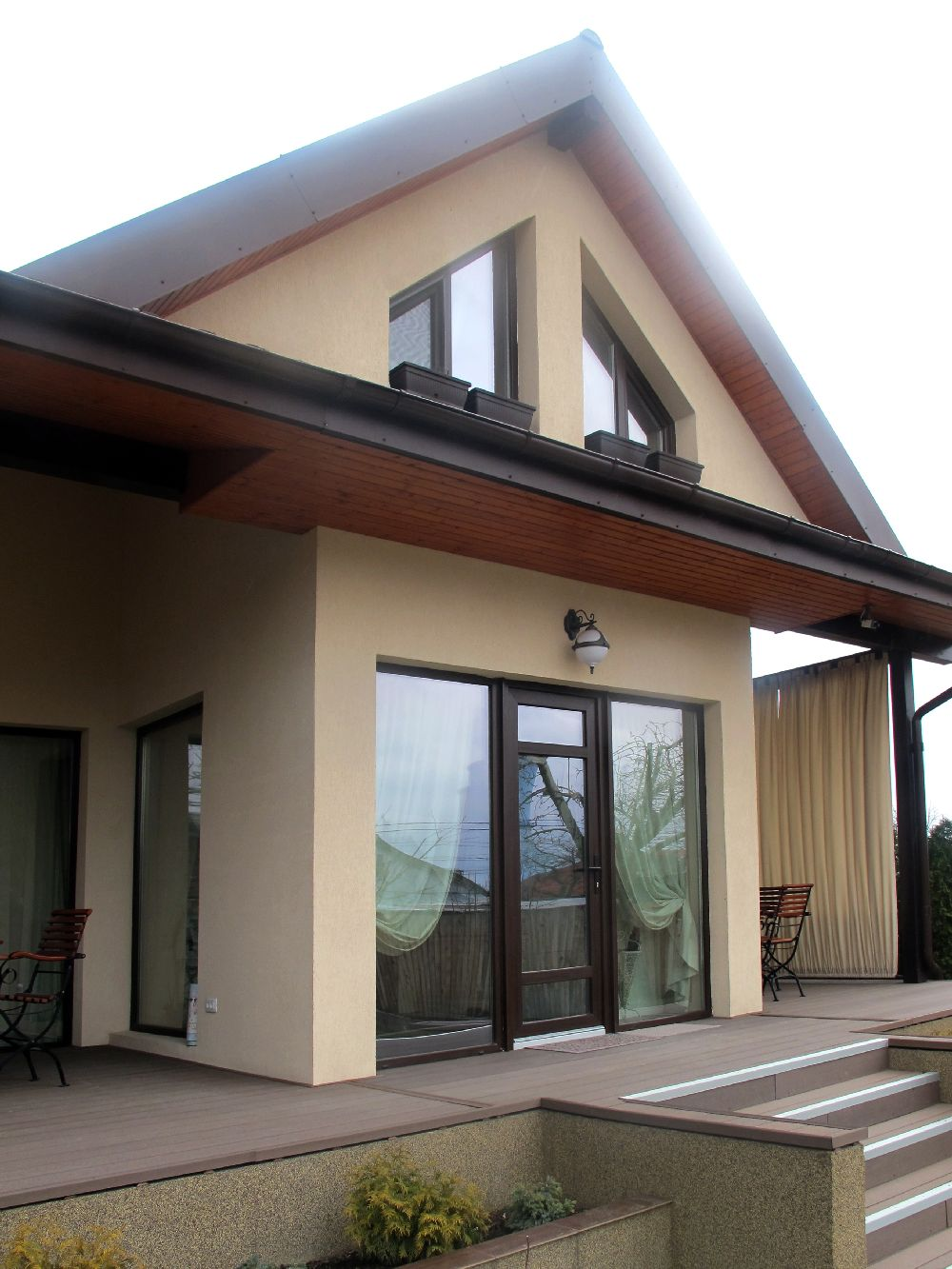 adelaparvu.com despre casa din lemn la Bacau, interior casa din lemn, design interior Mihaela Rosca, Foto, Sorin Rosca, Adela Parvu (8)