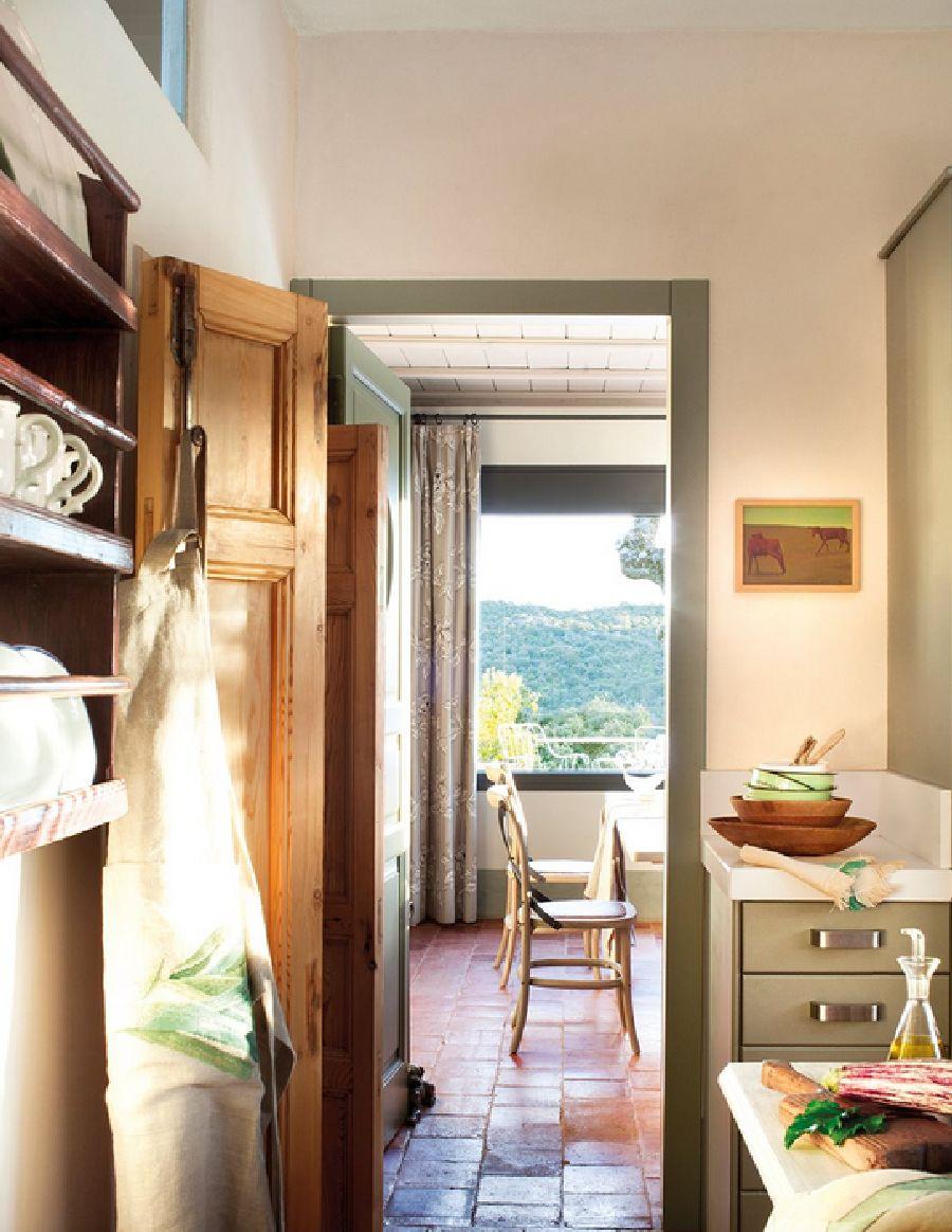 adelaparvu.com despre casa eco in Spania, casa cu interioare rustice Foto ElMueble (15)