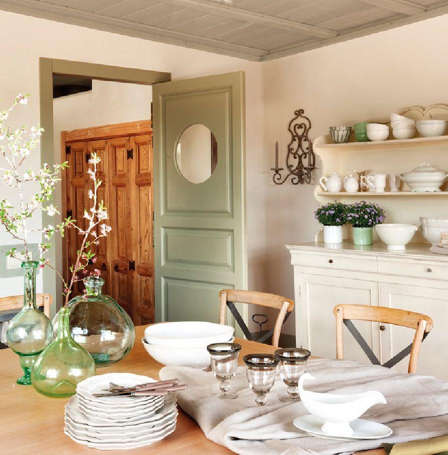 adelaparvu.com despre casa eco in Spania, casa cu interioare rustice Foto ElMueble (16)