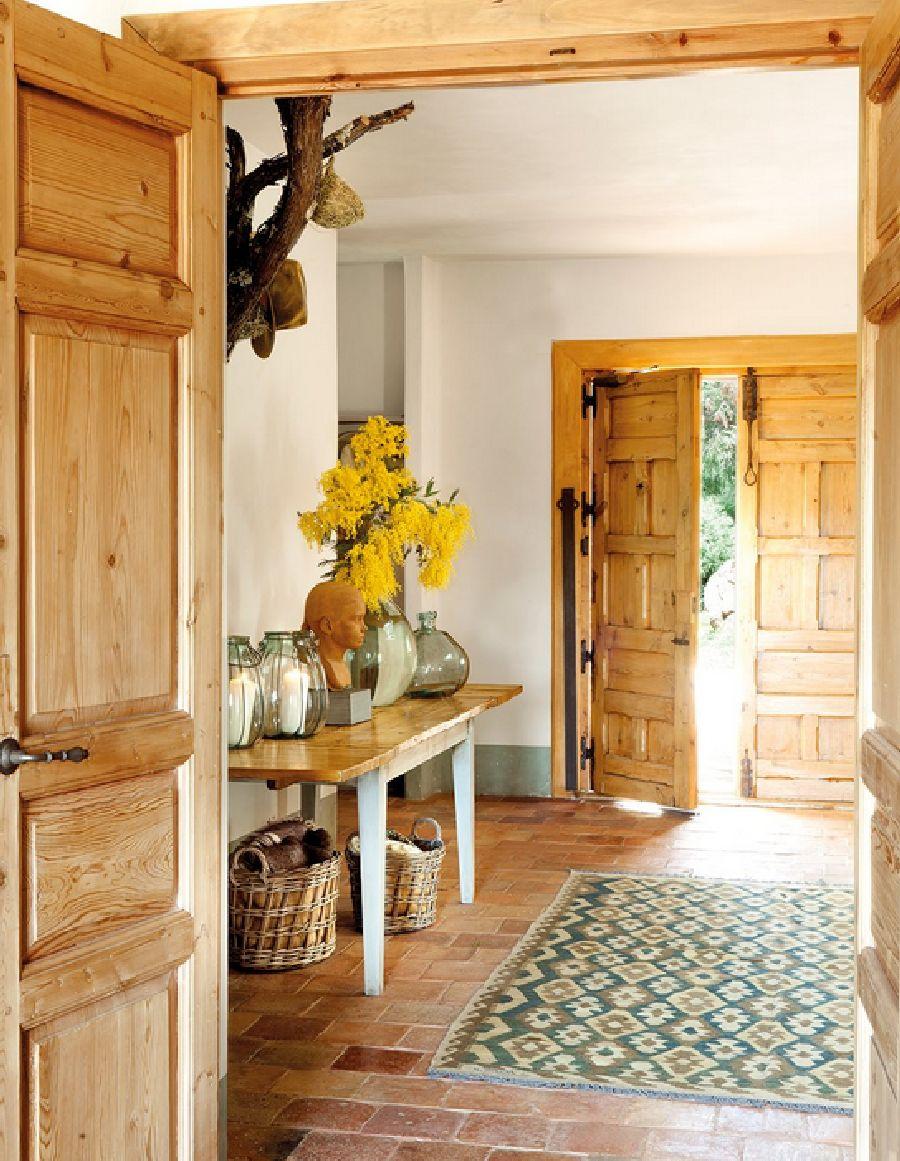 adelaparvu.com despre casa eco in Spania, casa cu interioare rustice Foto ElMueble (6)