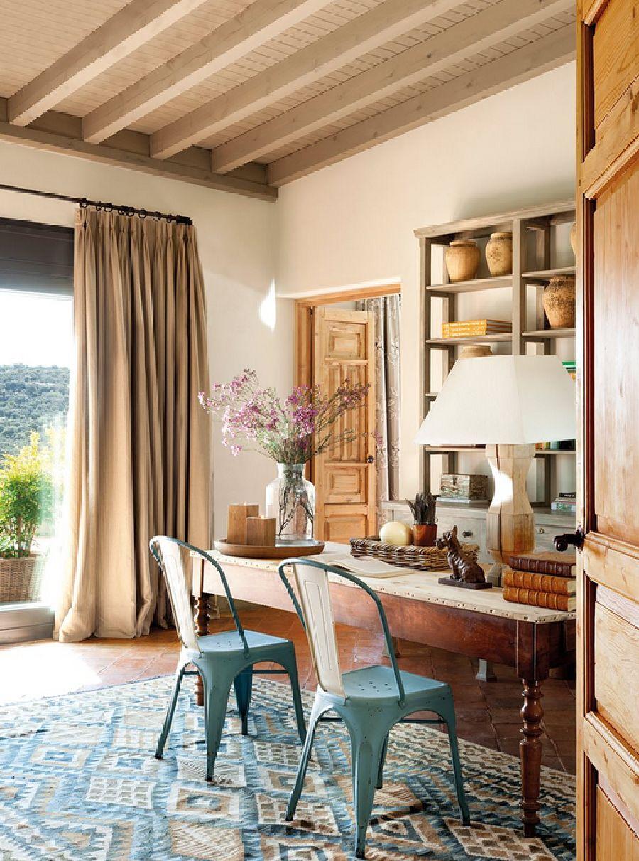 adelaparvu.com despre casa eco in Spania, casa cu interioare rustice Foto ElMueble (7)