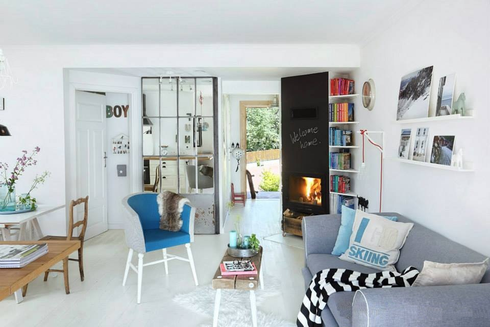 adelaparvu.com despre casa traditionala cu interior in sti scandinav Polonia, design interior Magdalena Herbowska, Foto Aneta Tryczynska (24)