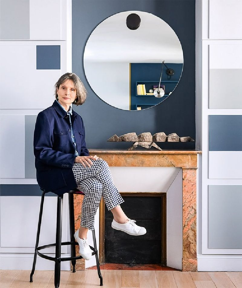 adelaparvu.com despre garsoniera de 30 mp in Paris, designer interior Marianne Evens, Foto AD Russia (1)