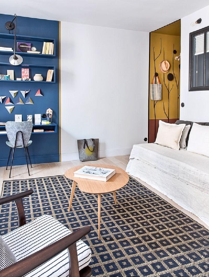 adelaparvu.com despre garsoniera de 30 mp in Paris, designer interior Marianne Evens, Foto AD Russia (6)