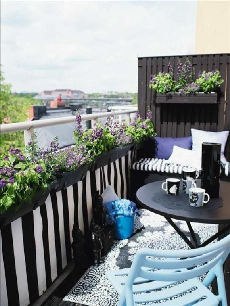 adelaparvu.com despre 50 de idei pentru amenajarea balconului (27)
