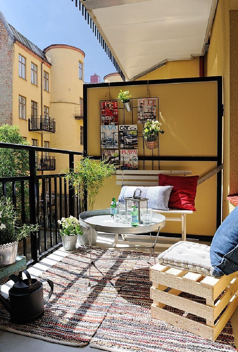 adelaparvu.com despre 50 de idei pentru amenajarea balconului (7)