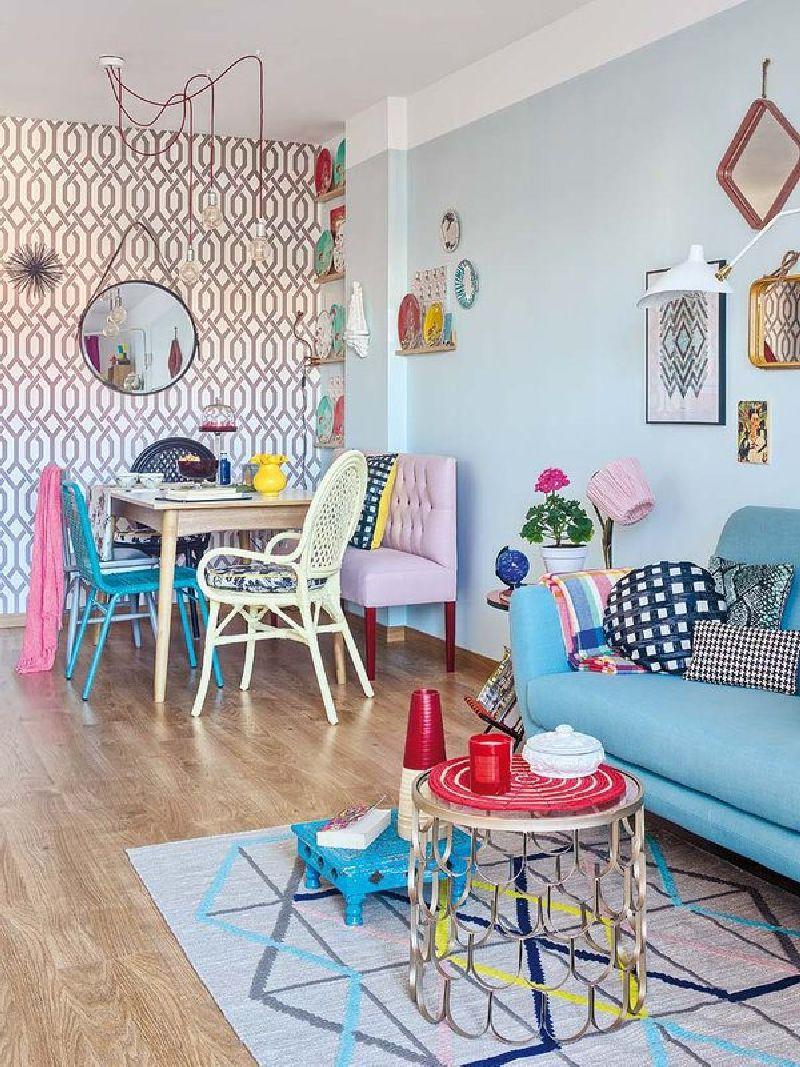 adelaparvu.com despre amenajare locuinta de trei camere, designer Pili Molina, Foto MiCasa (4)
