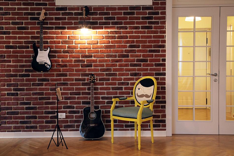 adelaparvu.com despre apartament de trei camere amenajat in stil traditional romanesc reinterpretat, design interior Valdecor, Alia Bakutayan si Daniel Tufis (10)
