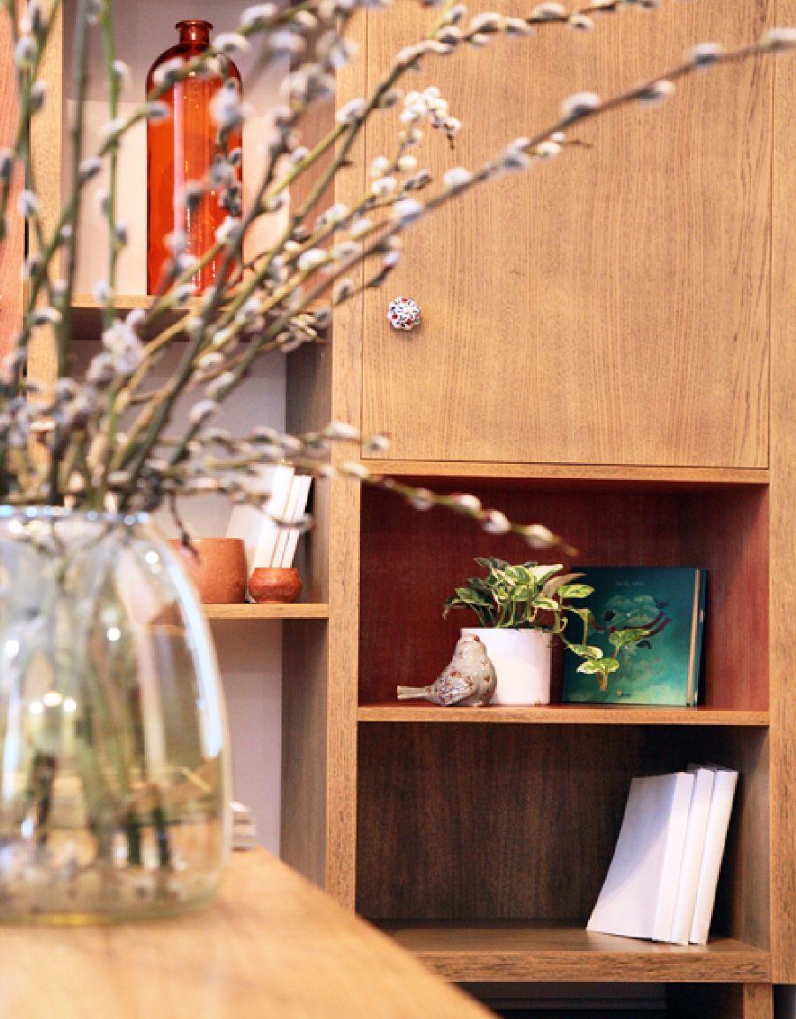 adelaparvu.com despre apartament de trei camere amenajat in stil traditional romanesc reinterpretat, design interior Valdecor, Alia Bakutayan si Daniel Tufis (2)