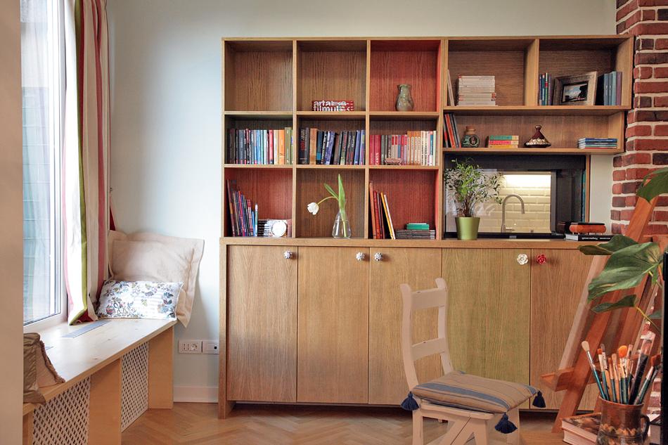 adelaparvu.com despre apartament de trei camere amenajat in stil traditional romanesc reinterpretat, design interior Valdecor, Alia Bakutayan si Daniel Tufis (5)