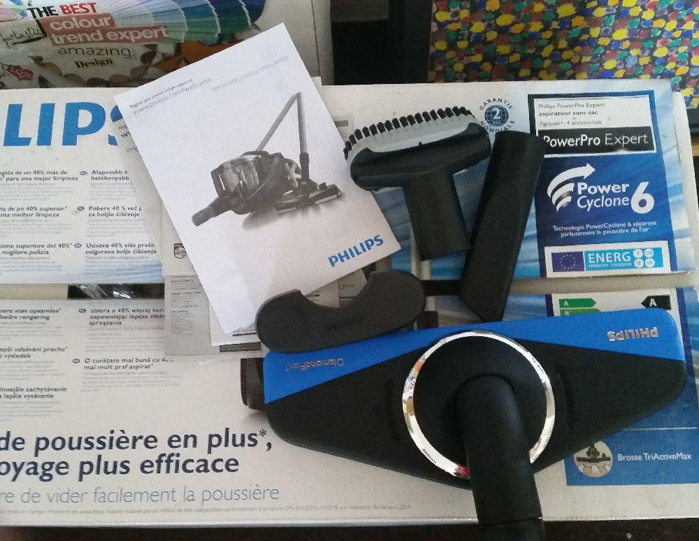 adelaparvu.com despre aspiratorul Philips clasa A, model ProwerPro Expert
