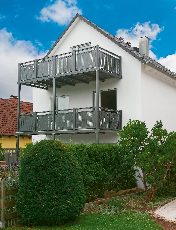 adelaparvu.com despre balcoane modulare din metal, Foto Balkonmacher (1)