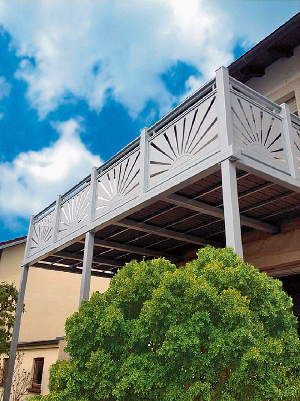 adelaparvu.com despre balcoane modulare din metal, Foto Balkonmacher (3)