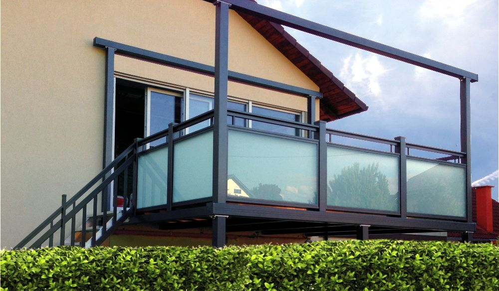 adelaparvu.com despre balcoane modulare din metal, Foto Balkonmacher (9)