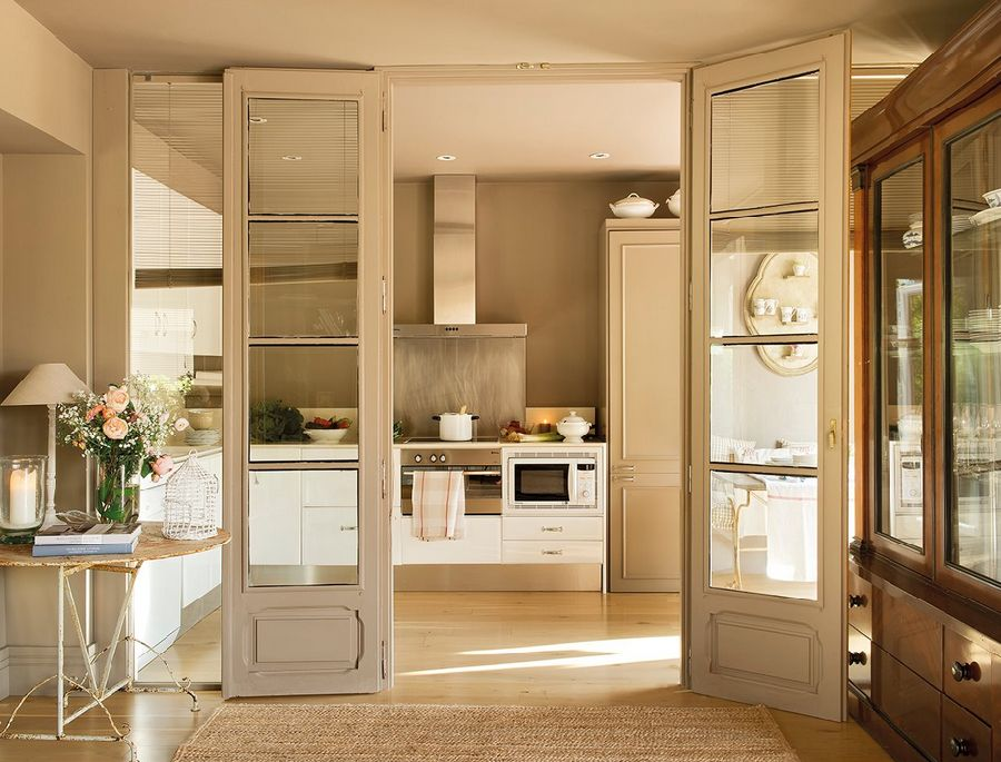 adelaparvu.com despre casa cu pereti in gri cald, casa Spania, design interior Carmina Sanz, Foto ElMueble (10)