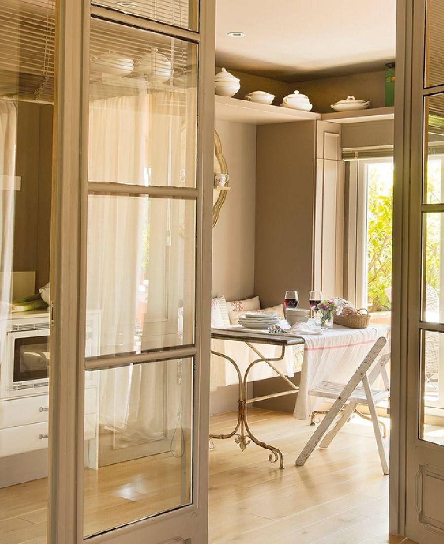 adelaparvu.com despre casa cu pereti in gri cald, casa Spania, design interior Carmina Sanz, Foto ElMueble (11)