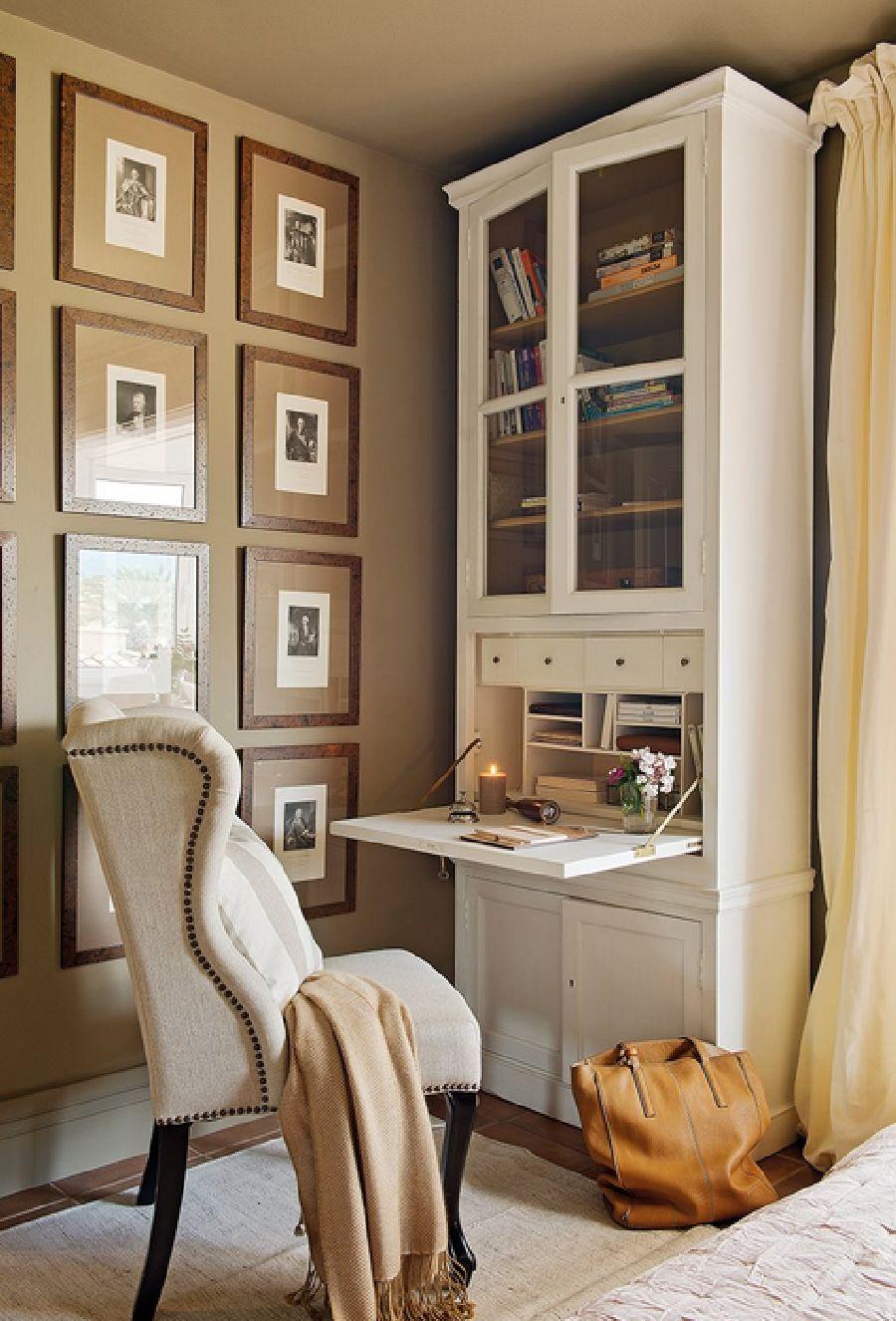 adelaparvu.com despre casa cu pereti in gri cald, casa Spania, design interior Carmina Sanz, Foto ElMueble (14)