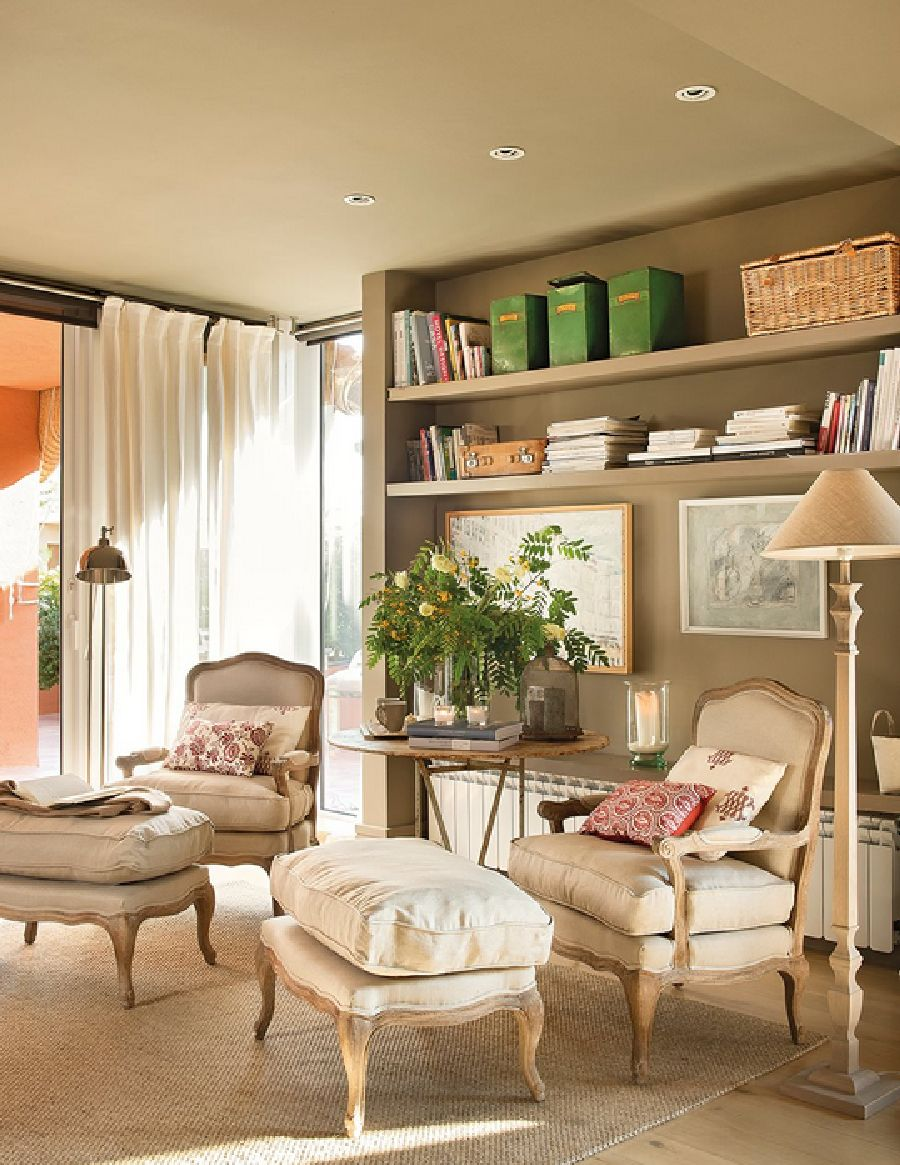 adelaparvu.com despre casa cu pereti in gri cald, casa Spania, design interior Carmina Sanz, Foto ElMueble (6)