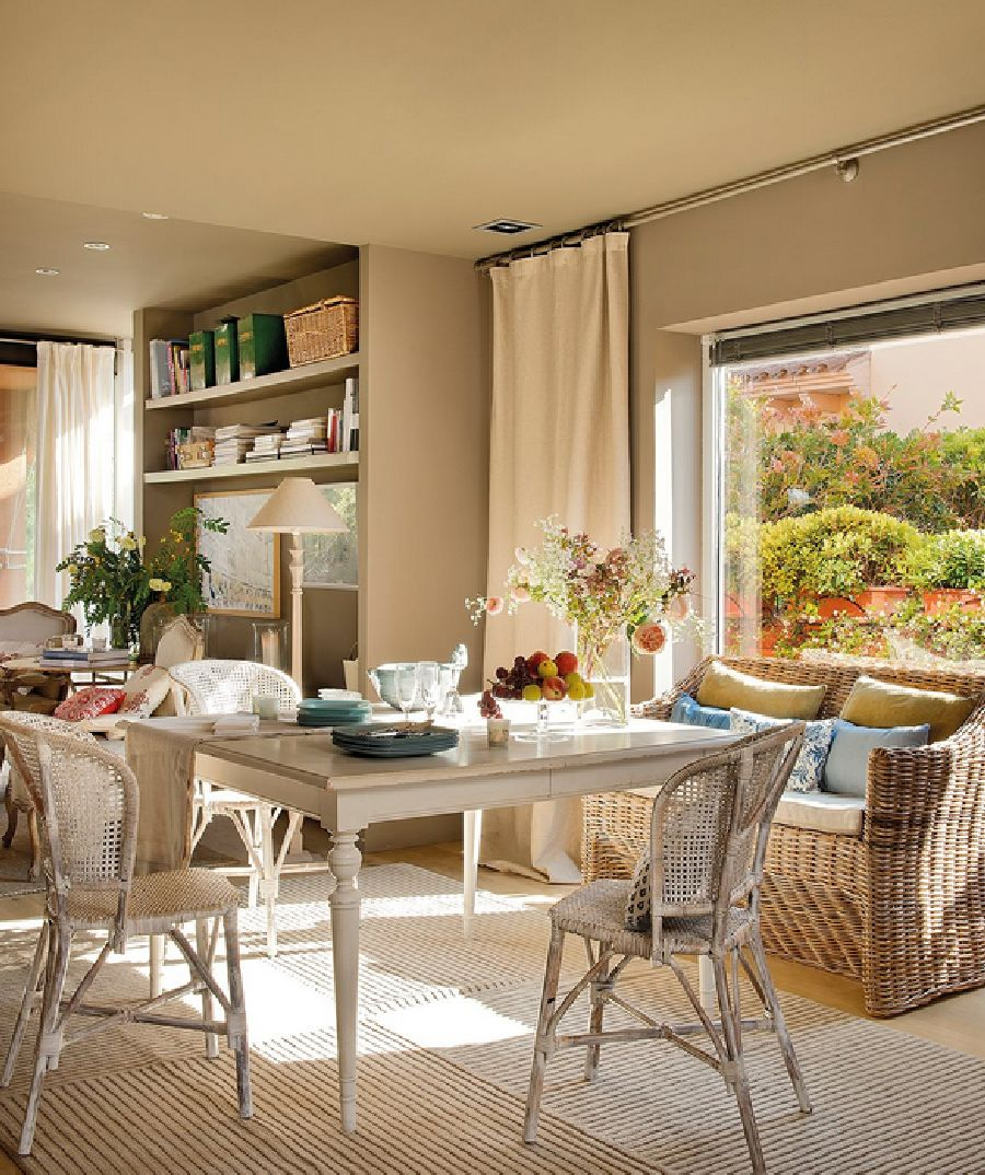 adelaparvu.com despre casa cu pereti in gri cald, casa Spania, design interior Carmina Sanz, Foto ElMueble (8)