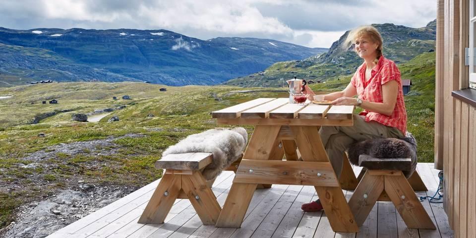 adelaparvu.com despre casa de vacanta din lemn de 63 mp, casa Norvegia Mannsberg Tyin, Foto Sveinung Brathen (12)