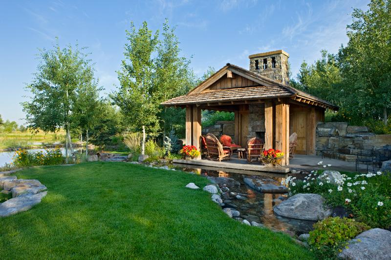 adelaparvu.com despre casa din lemn si piatra SUA, Bozeman, Montana, arhitectuta Locati Architects, Foto Roger Wade Studio (14)
