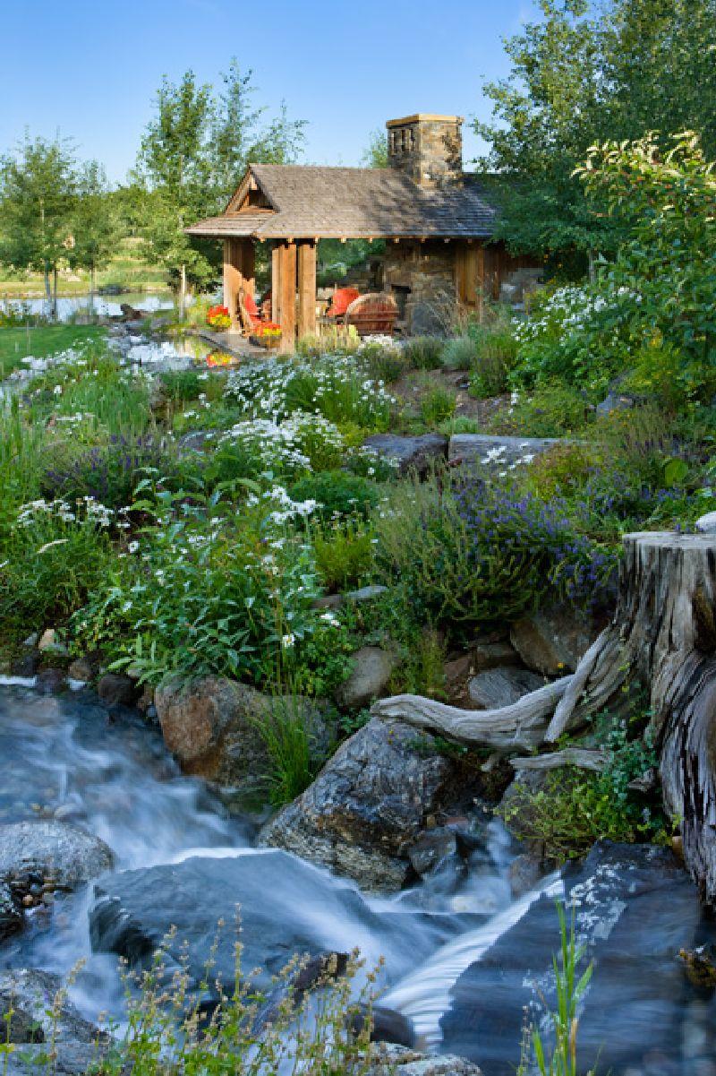 adelaparvu.com despre casa din lemn si piatra SUA, Bozeman, Montana, arhitectuta Locati Architects, Foto Roger Wade Studio (15)