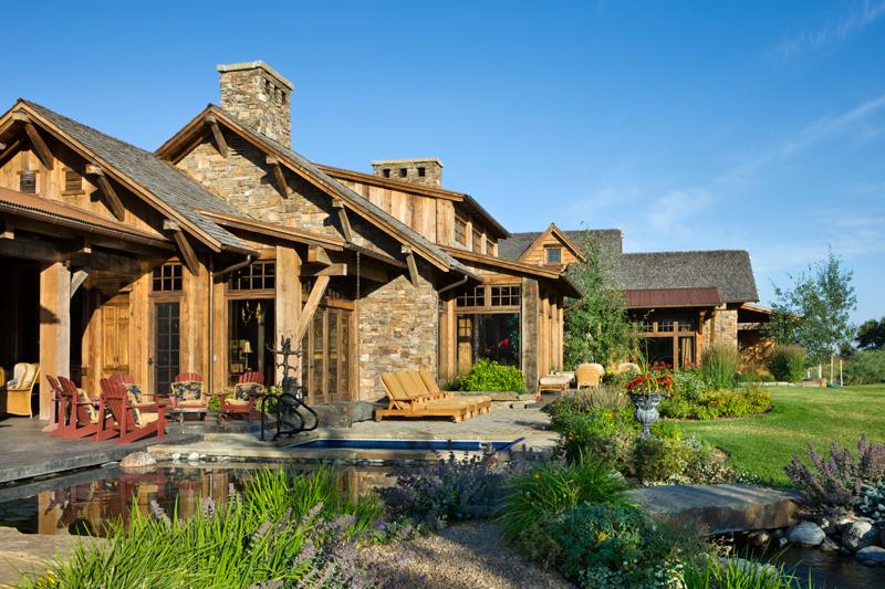 adelaparvu.com despre casa din lemn si piatra SUA, Bozeman, Montana, arhitectuta Locati Architects, Foto Roger Wade Studio (18)