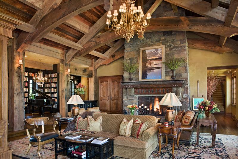 adelaparvu.com despre casa din lemn si piatra SUA, Bozeman, Montana, arhitectuta Locati Architects, Foto Roger Wade Studio (21)