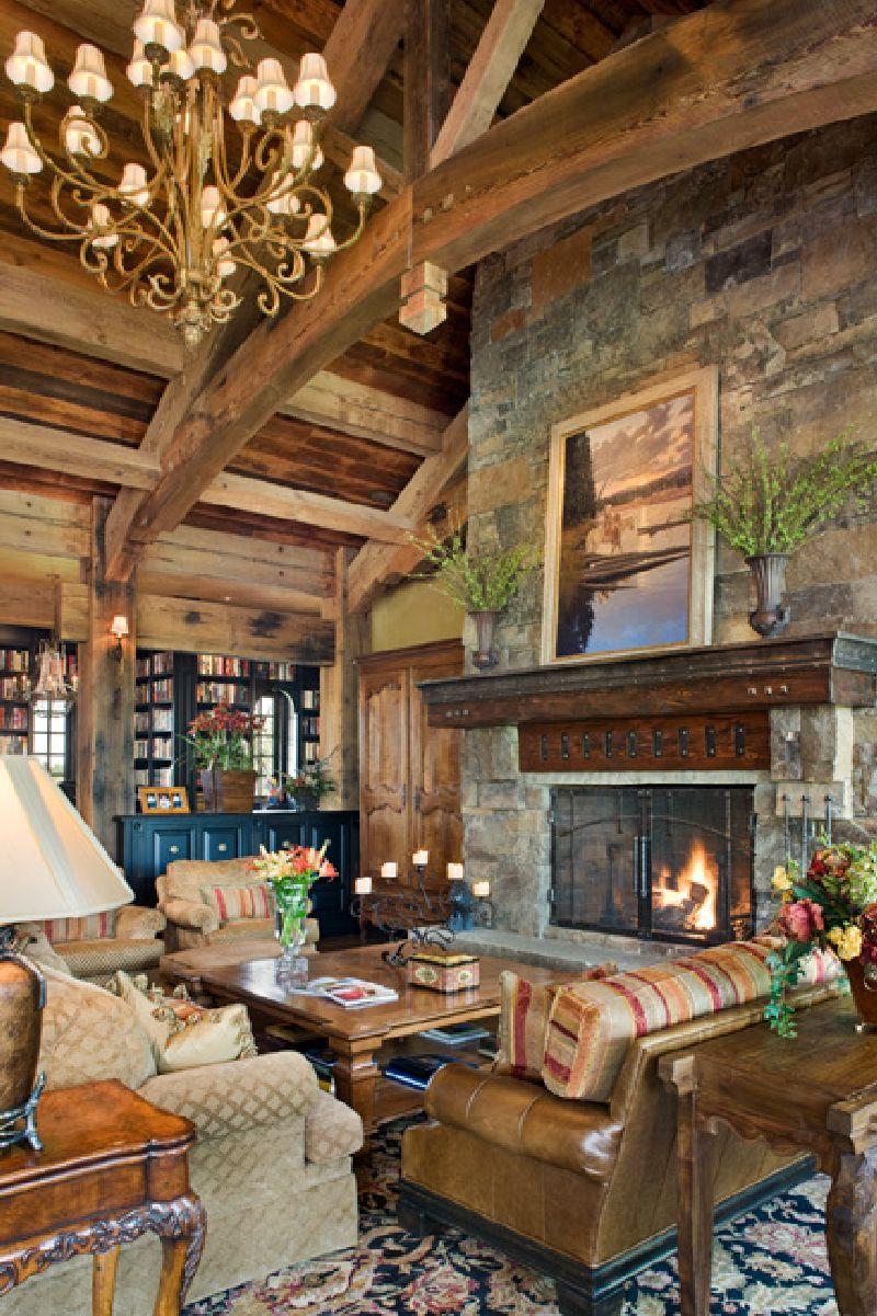 adelaparvu.com despre casa din lemn si piatra SUA, Bozeman, Montana, arhitectuta Locati Architects, Foto Roger Wade Studio (22)