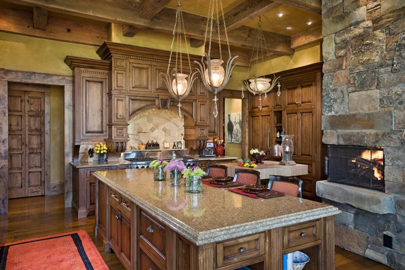 adelaparvu.com despre casa din lemn si piatra SUA, Bozeman, Montana, arhitectuta Locati Architects, Foto Roger Wade Studio (23)