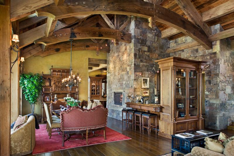 adelaparvu.com despre casa din lemn si piatra SUA, Bozeman, Montana, arhitectuta Locati Architects, Foto Roger Wade Studio (24)