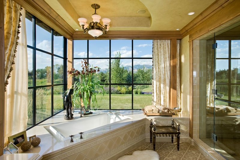 adelaparvu.com despre casa din lemn si piatra SUA, Bozeman, Montana, arhitectuta Locati Architects, Foto Roger Wade Studio (27)