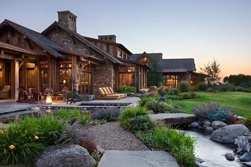 adelaparvu.com despre casa din lemn si piatra SUA, Bozeman, Montana, arhitectuta Locati Architects, Foto Roger Wade Studio (9)