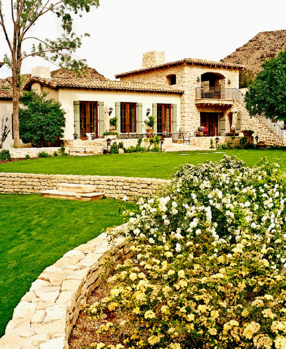 adelaparvu.com despre casa in stil mediteranean, arhitectura Ozar Architects, design interior Karen Rapp Interiors (11)