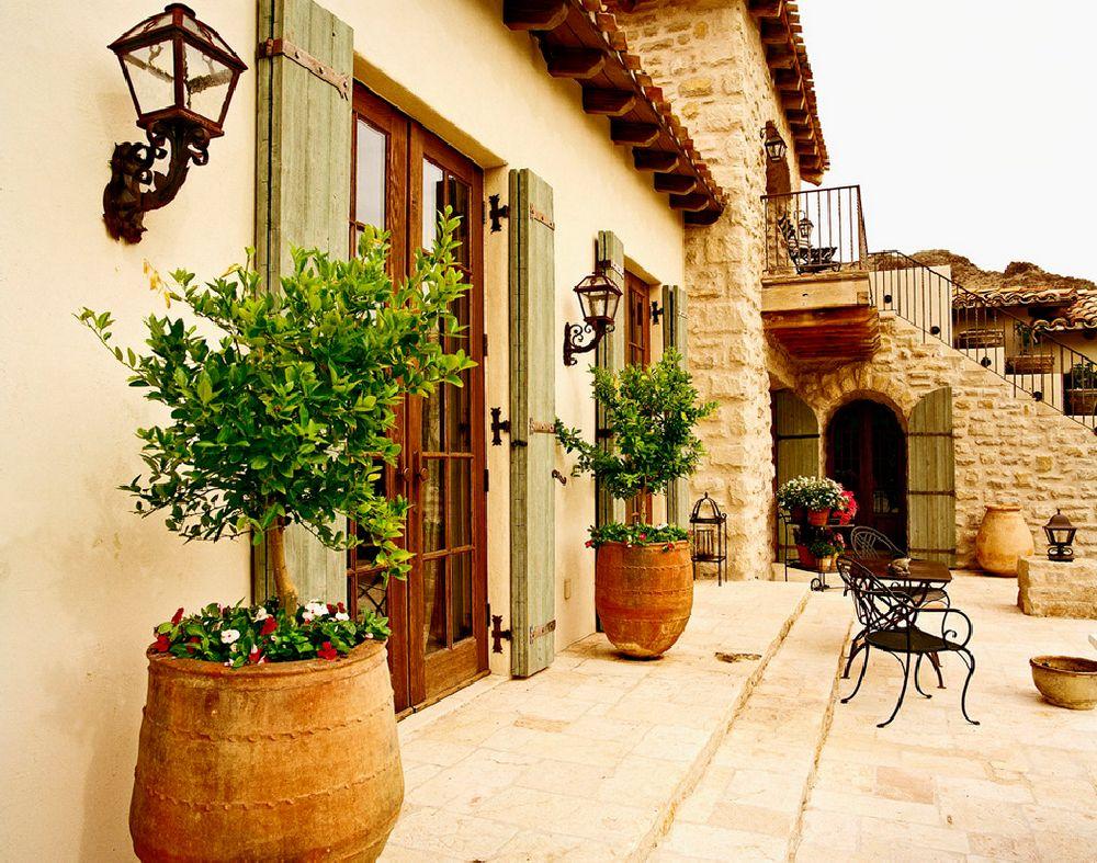 adelaparvu.com despre casa in stil mediteranean, arhitectura Ozar Architects, design interior Karen Rapp Interiors (12)