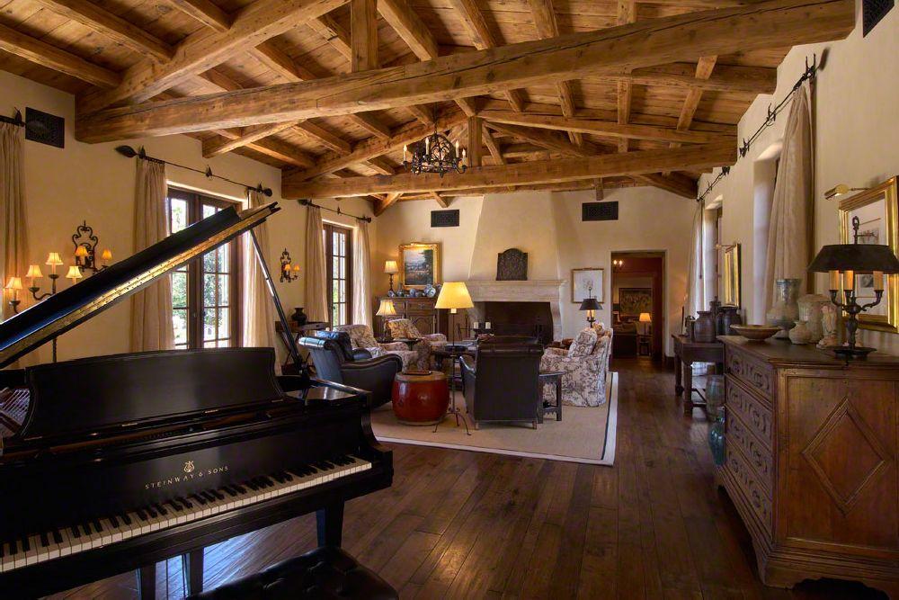 adelaparvu.com despre casa in stil mediteranean, arhitectura Ozar Architects, design interior Karen Rapp Interiors (20)