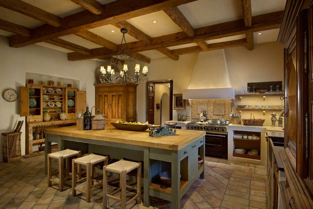 adelaparvu.com despre casa in stil mediteranean, arhitectura Ozar Architects, design interior Karen Rapp Interiors (22)