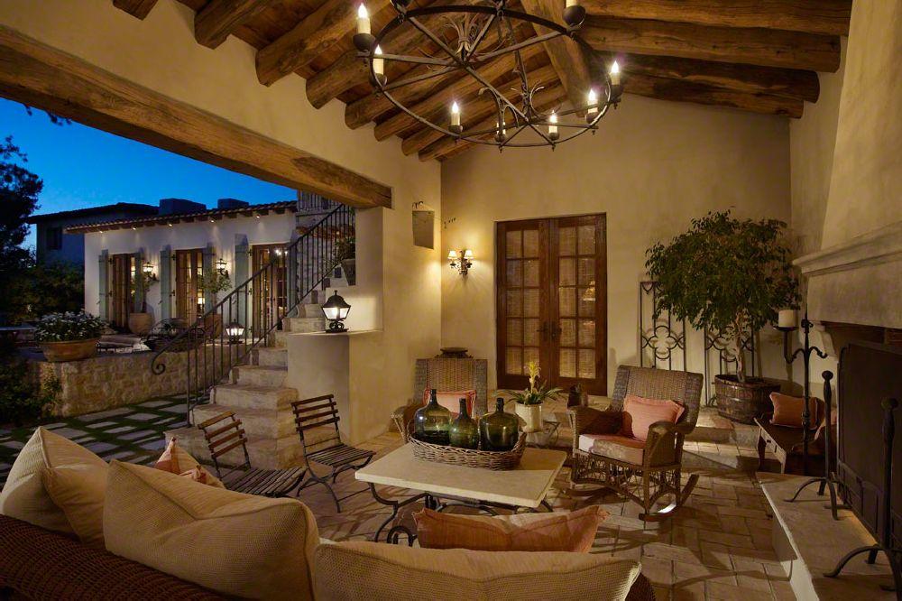 adelaparvu.com despre casa in stil mediteranean, arhitectura Ozar Architects, design interior Karen Rapp Interiors (23)
