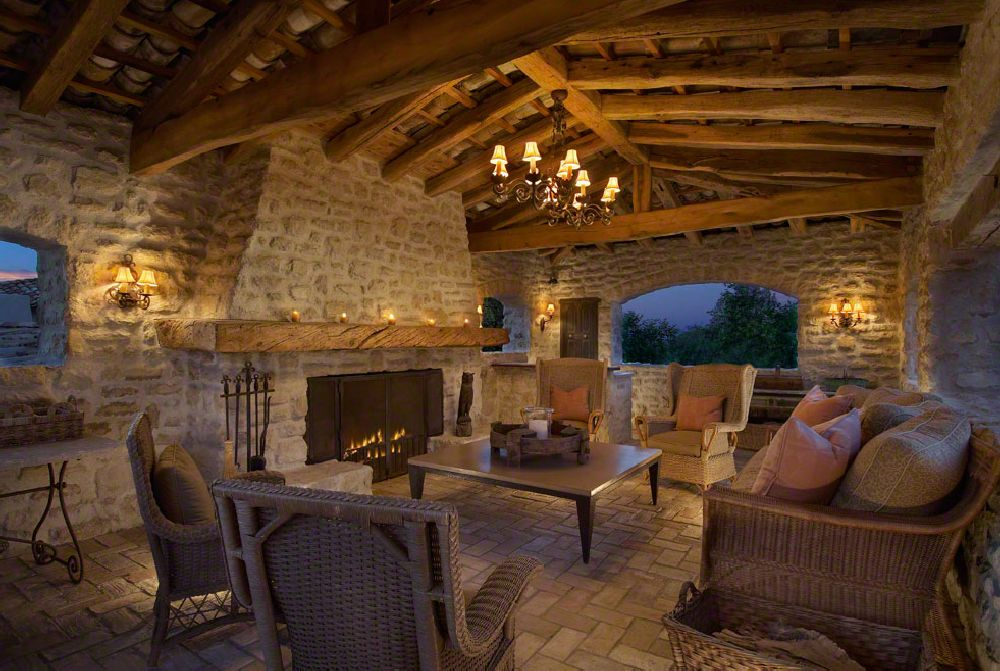adelaparvu.com despre casa in stil mediteranean, arhitectura Ozar Architects, design interior Karen Rapp Interiors (25)