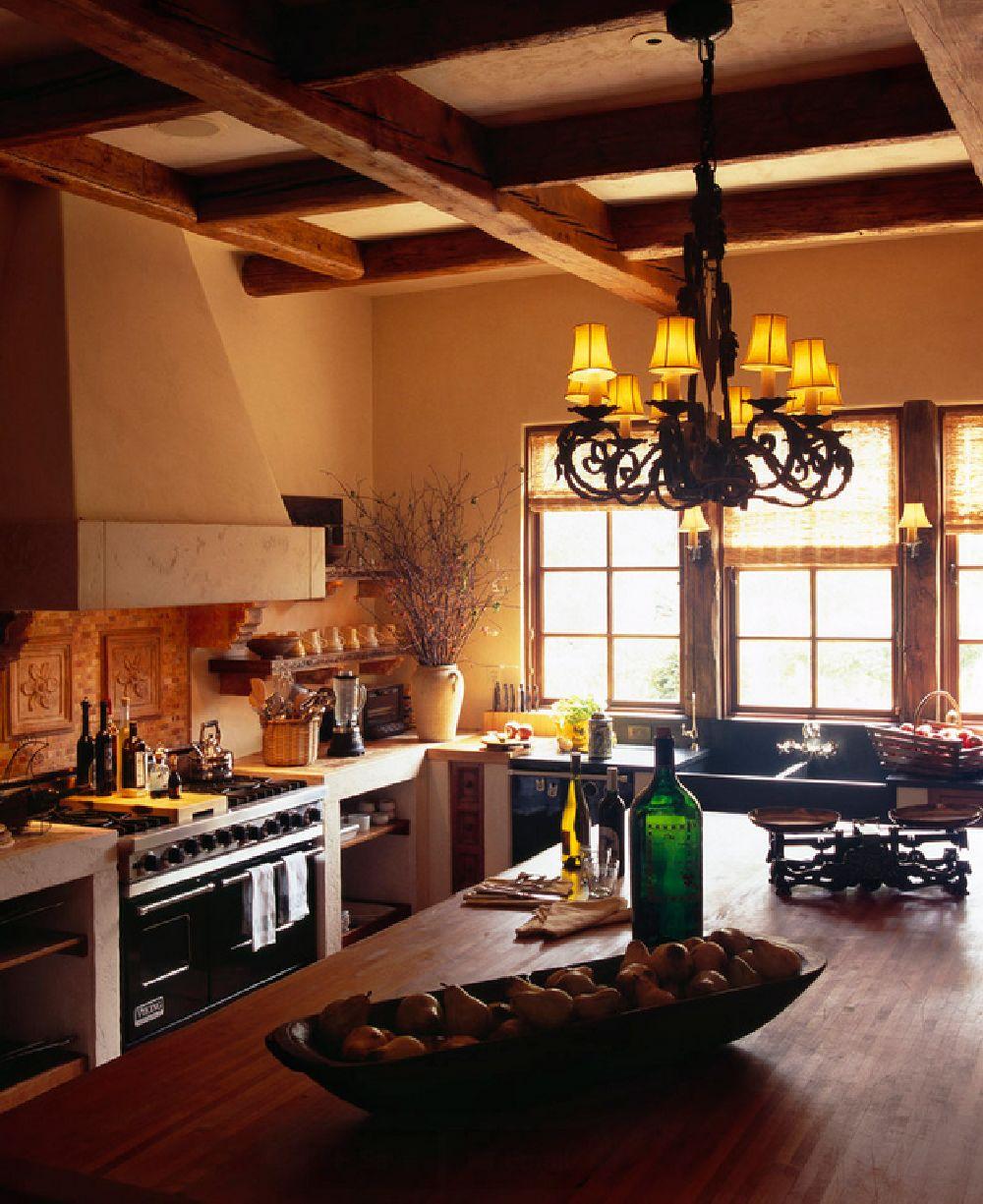 adelaparvu.com despre casa in stil mediteranean, arhitectura Ozar Architects, design interior Karen Rapp Interiors (4)
