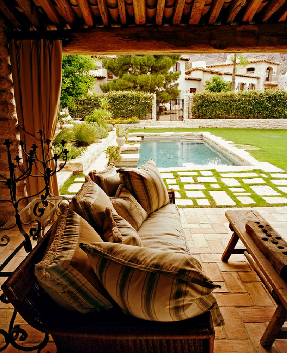 adelaparvu.com despre casa in stil mediteranean, arhitectura Ozar Architects, design interior Karen Rapp Interiors (5)