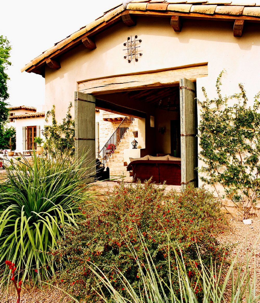 adelaparvu.com despre casa in stil mediteranean, arhitectura Ozar Architects, design interior Karen Rapp Interiors (9)