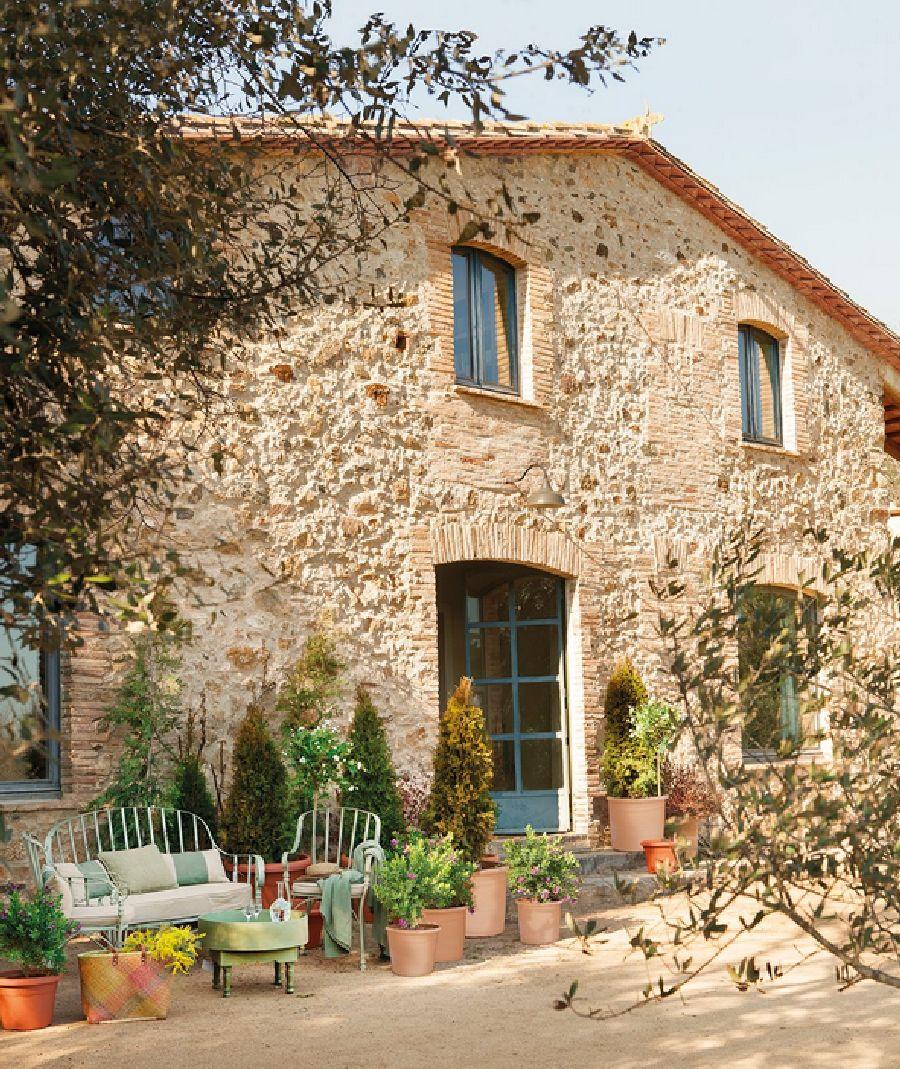 adelaparvu.com despre casa rustica cu interior in nuante naturale, designer Gaby Conde, Foto ElMueble (1)