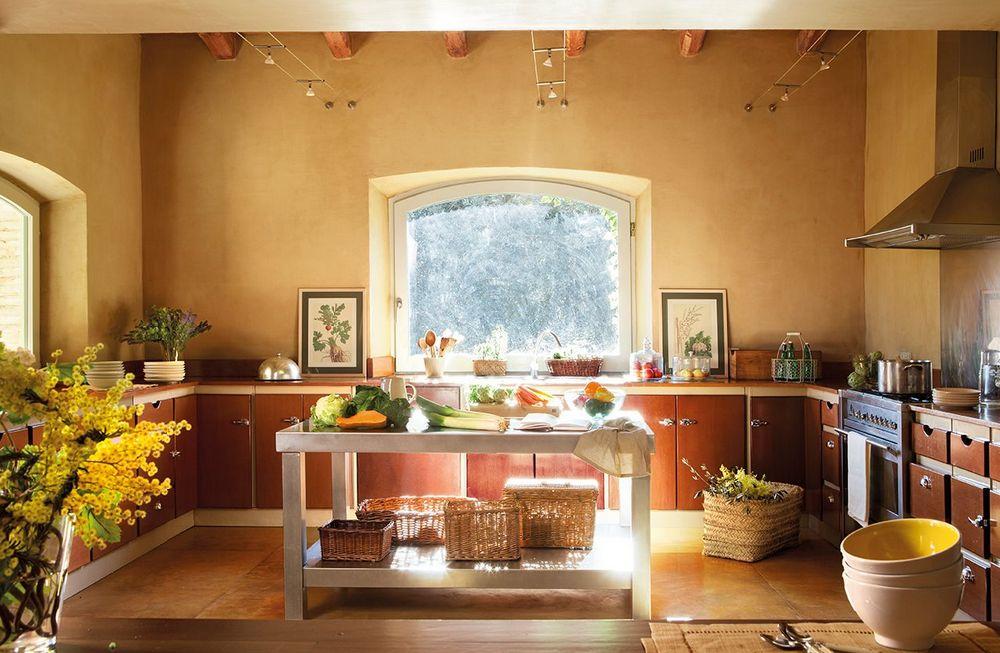 adelaparvu.com despre casa rustica cu interior in nuante naturale, designer Gaby Conde, Foto ElMueble (10)