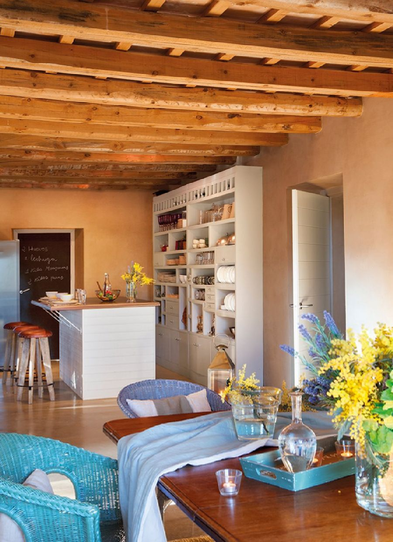 adelaparvu.com despre casa rustica cu interior in nuante naturale, designer Gaby Conde, Foto ElMueble (12)