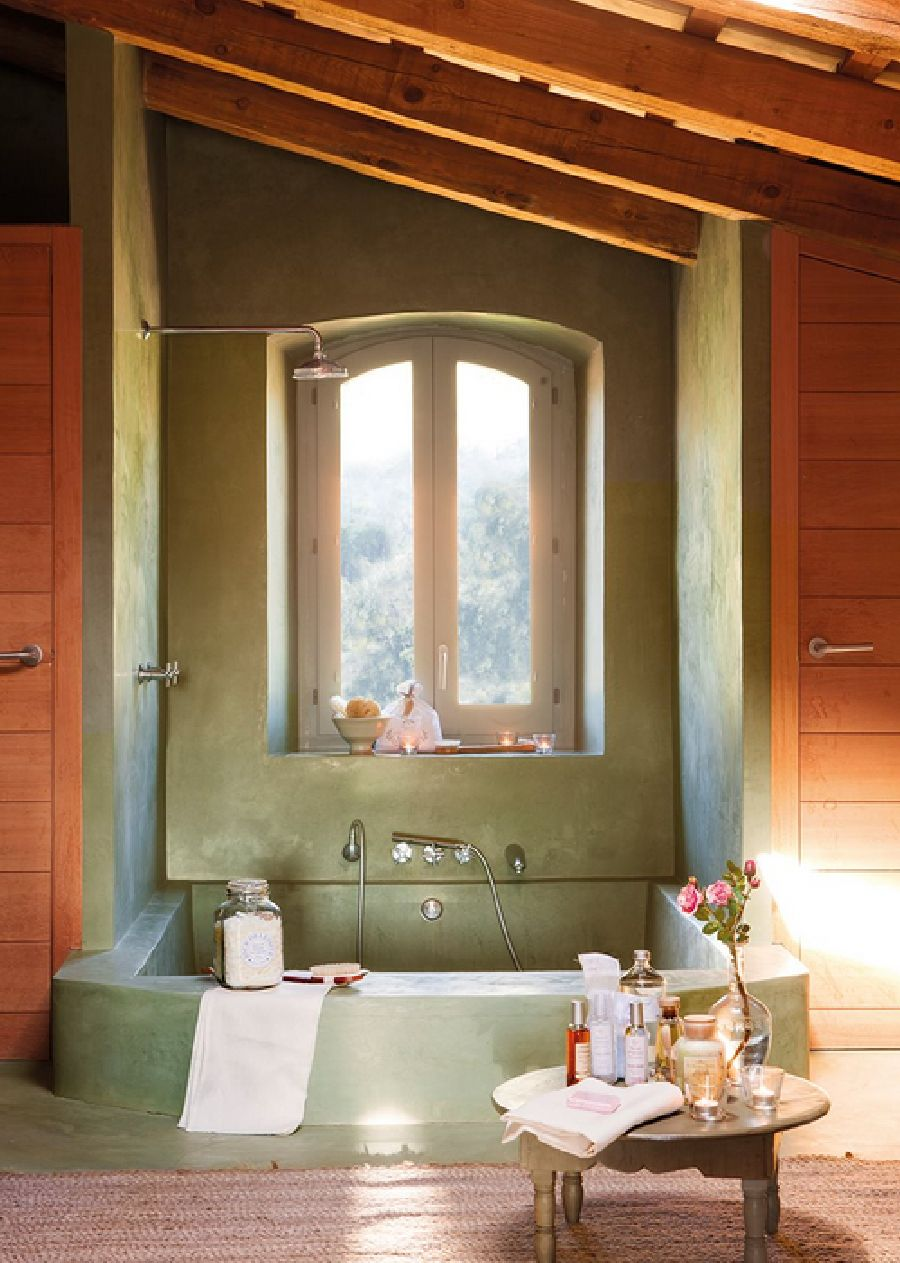 adelaparvu.com despre casa rustica cu interior in nuante naturale, designer Gaby Conde, Foto ElMueble (15)