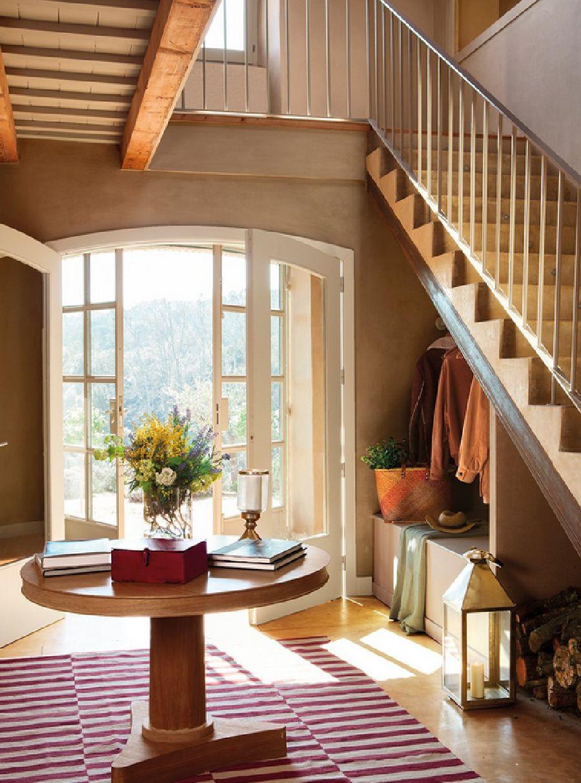 adelaparvu.com despre casa rustica cu interior in nuante naturale, designer Gaby Conde, Foto ElMueble (5)