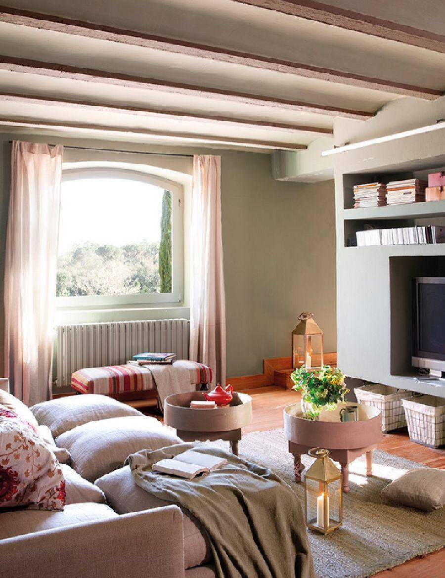 adelaparvu.com despre casa rustica cu interior in nuante naturale, designer Gaby Conde, Foto ElMueble (8)